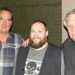 Denis Champagne et Pierre Lemoyne ( Prog Core Radio ) avec / with Francois Fournier ( Mystery et Prog Core Radio ) Montreal, Nov 2016