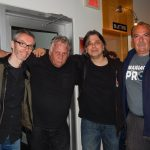 Denis Champagne & Pierre Lemoyne ( Prog Core Radio ) avec / with Marc Turiaux & Yogi Lang ( R.P.W.L.) Quebec, May, 2016