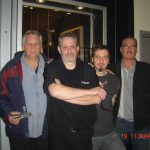 Denis Champagne & Pierre Lemoyne (Prog Core Radio) avec / with Jean Marc Pisapia & Francois Bruneau (The Box) Jan 2013