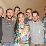 Denis Champagne et Pierre Lemoyne ( Prog Core Radio ) avec / with Vecteur K – Montreal, Nov 2016