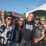 Pierre Lemoyne ( Prog Core Radio ) avec / with Helix ( Vancouver, Aug 2017 )