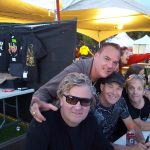 Pierre Lemoyne ( Prog Core Radio ) avec / with Honeymoon Suite ( Vancouver, Aug 2017 )