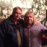 Denis Champagne ( Prog Core Radio ) avec / with Mick Pointer ( Marillion / Arena ) Quebec, Nov 2012