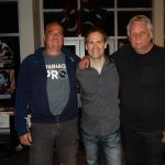 Denis Champagne & Pierre Lemoyne ( Prog Core Radio ) avec / with Marco Gluhmann ( Sylvan ) Quebec, May 2016