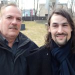 Pierre Lemoyne ( Prog Core Radio ) avec / with Francois ( G.Nova ) Montreal, Mar, 2017